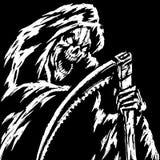 Grim reaper vector Stock Images