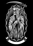 Grim Reaper Vector Art Royalty Free Stock Images