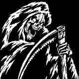 Grim Reaper. Vector Illustration Stock Images