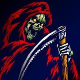 Grim Reaper Vector Illustration stock illustration
