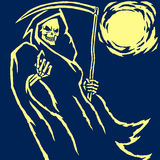 Grim Reaper vector illustration Stock Image