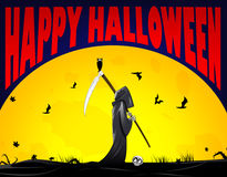 Grim Reaper vector image Royalty Free Stock Photos