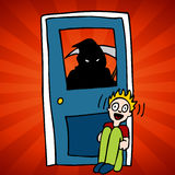 Grim Reaper Victim Stock Image