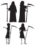 Grim reapers Stock Photography