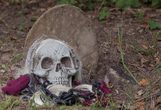 Grim Reapers Grave Royalty Free Stock Photo