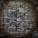 Grim vintage background texture of stone wall Stock Images