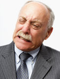 Grimacing Man Royalty Free Stock Photo