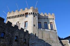 Grimaldi Castle, Haut de Cagnes, French Riviera Stock Image