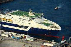 Grimaldi Lines cruise in Barcelona, Spain Stock Photo