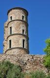 Grimaud, Γαλλία - 16 Απριλίου 2016: κάστρο Στοκ Εικόνα
