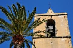Grimaud, Γαλλία - 16 Απριλίου 2016: το ιστορικό χωριό Στοκ Εικόνα