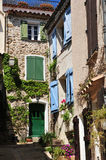 Grimaud, Γαλλία - 16 Απριλίου 2016: το ιστορικό χωριό Στοκ φωτογραφίες με δικαίωμα ελεύθερης χρήσης