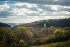 Grimburgkasteel in Duitsland Stock Fotografie