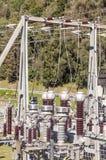 Grimentz idroelettrico Fotografia Stock Libera da Diritti