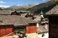 Free Grimentz Village In Swiss Alps Royalty Free Stock Image - 56835466