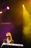 Grimes band performs at San Miguel Primavera Sound Festival Stock Photos