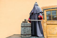 The grimmed reaper and executioner Royalty Free Stock Photography