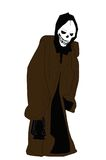 Grimmiger Reaper Stockbild