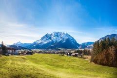 Grimming berg i Styria, Österrike Arkivbilder