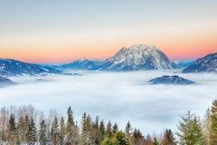 Grimming, Ennstal Styrie, Autriche Image libre de droits