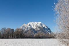 Grimming mountain, Ennstal in Austria Stock Image