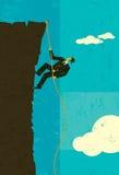 grimpeur Image libre de droits