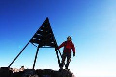 grimpeur photo stock