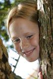 Grimpeur d'arbre Photos libres de droits