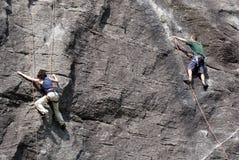 grimpeurs Photographie stock libre de droits