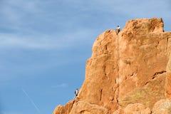 Grimpeurs de roche Image libre de droits