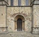 Grimsby, le Lincolnshire est du nord, R-U, mai 2019, vue de la porte du sud à Grimsby Minster image libre de droits