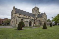 Grimsby, le Lincolnshire est du nord, R-U, mai 2019, vue de Grimsby Minster image libre de droits