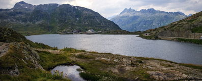 Grimsel lake, Bern, Switzerland Stock Images