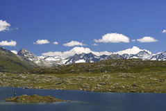 Grimsel Pass Stock Photography