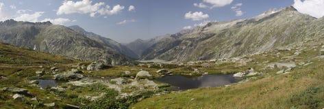 Grimsel pass panorama Stock Photo