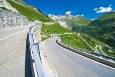 Grimsel pass, switzerland Royalty Free Stock Photo