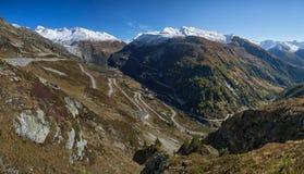 Grimselpass Швейцария Стоковые Фото
