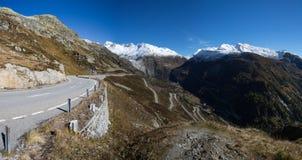 Grimselpass Швейцария Стоковые Фотографии RF