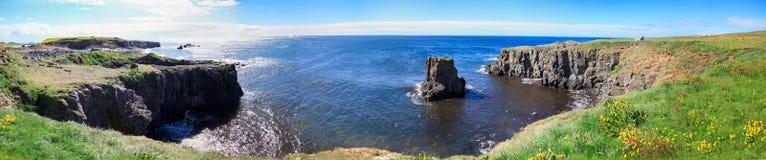 Grimsey海岛 免版税图库摄影