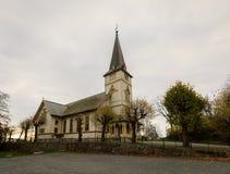 Grimstad kyrka, Norge, Europa Arkivfoton