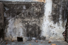 Grimy plastered wall Stock Photos