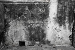 Grimy plastered wall Stock Photography