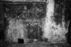 Grimy plastered wall Royalty Free Stock Photography