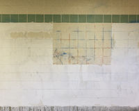 Grimy Subway Wall Royalty Free Stock Images