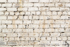 Grimy White Dirt Stained Painted Grunge Wall Royalty Free Stock Photos