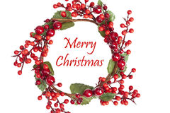 Grinalda bonita do Natal Imagens de Stock Royalty Free
