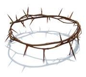 Grinalda Christ dos espinhos imagens de stock