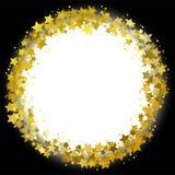 Grinalda da estrela Fotos de Stock