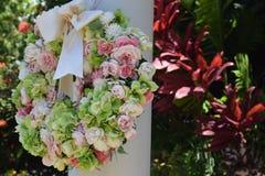 Grinalda da flor da mola Fotografia de Stock
