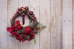 Grinalda de Advent Christmas Fotografia de Stock Royalty Free